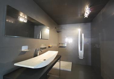Accessori bagno per capannoli studio blu design